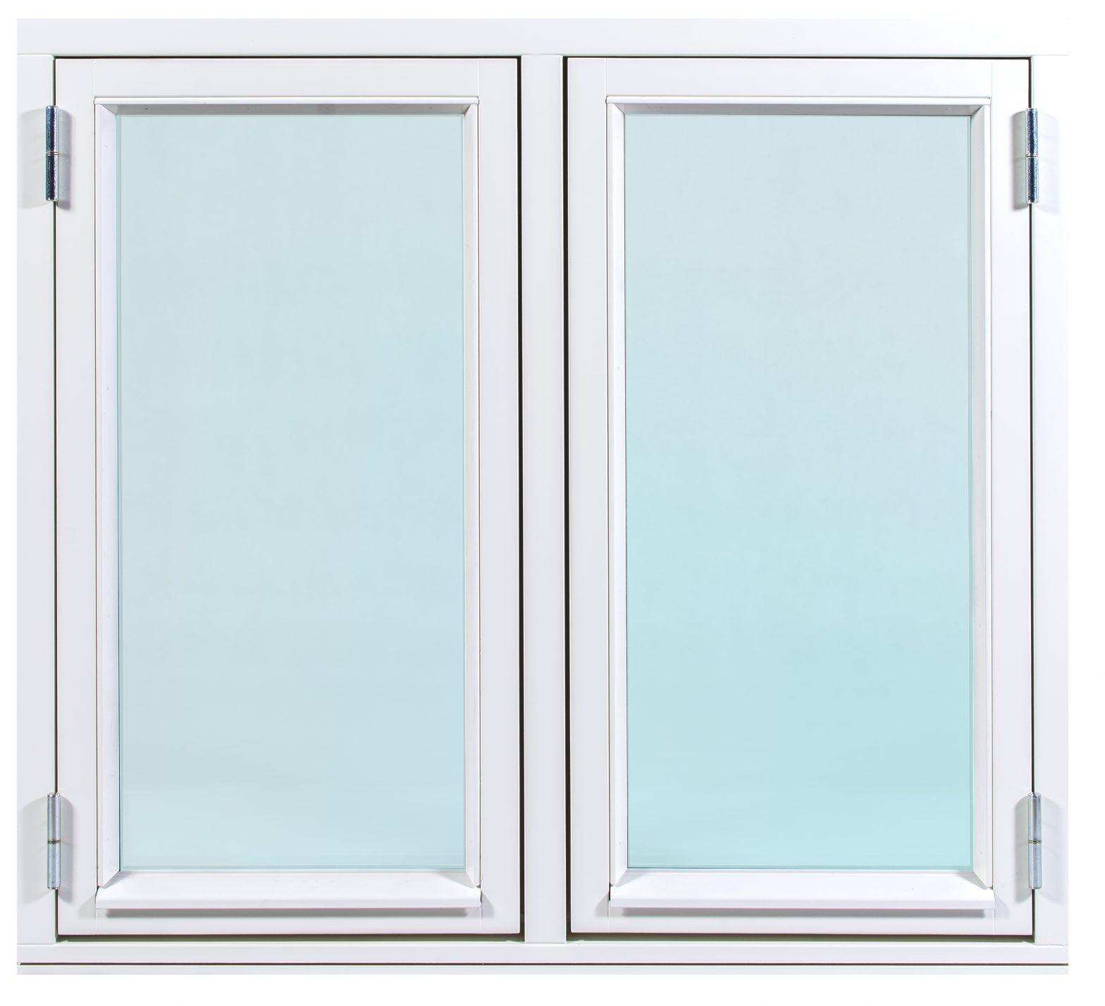 2 glas fönster
